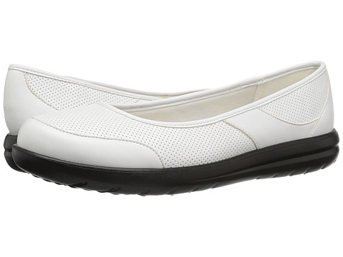 Incaltaminte Femei Clarks Jocolin Myla White Perfed Synthetic