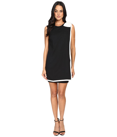 Imbracaminte Femei Ted Baker Elija Double Layer Dress with Bow Black