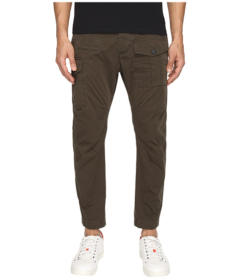 Imbracaminte Barbati DSQUARED2 Sexy Cargo Pants Military Green