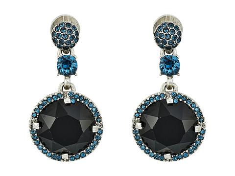 Bijuterii Femei Oscar de la Renta Pave Rounder Crystal P Earrings Jet