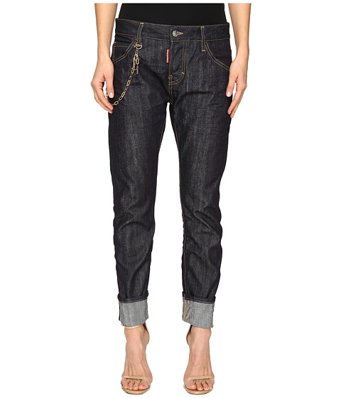 Imbracaminte Femei DSQUARED2 Skin Hibird Pants Five-Pockets Blue