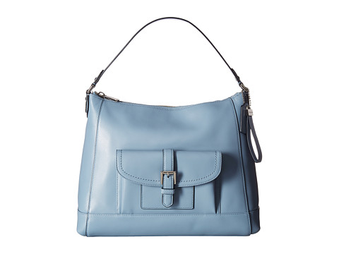 Genti Femei COACH Charlie Leather Hobo Cornflower