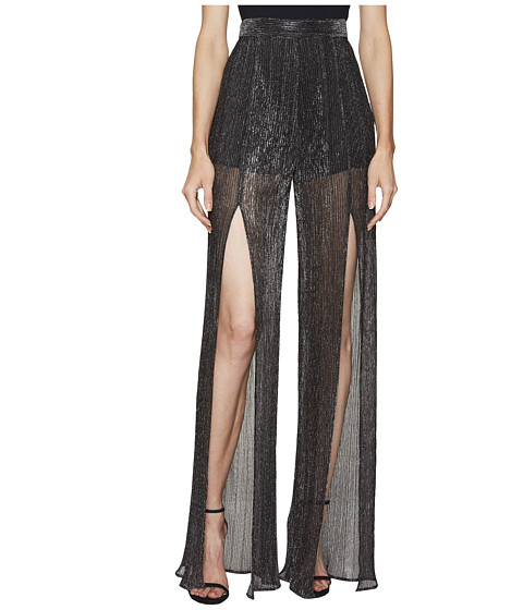 Imbracaminte Femei Just Cavalli Sheer Slit Pants Black