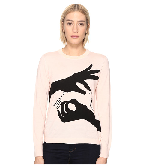 Imbracaminte Femei Paul Smith Bunny Sweater Pale Pink