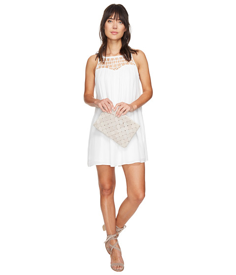 Imbracaminte Femei BB Dakota Astor Crochet Yoke Shift Dress Ivory