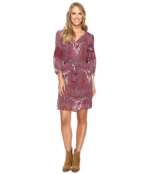 Imbracaminte Femei Lucky Brand Paisley Dress Red Multi