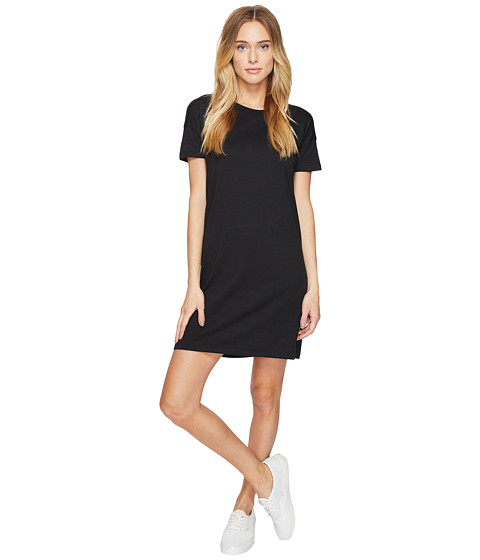 Imbracaminte Femei Alternative Apparel Straight Up Cotton Modal T-Shirt Dress Black