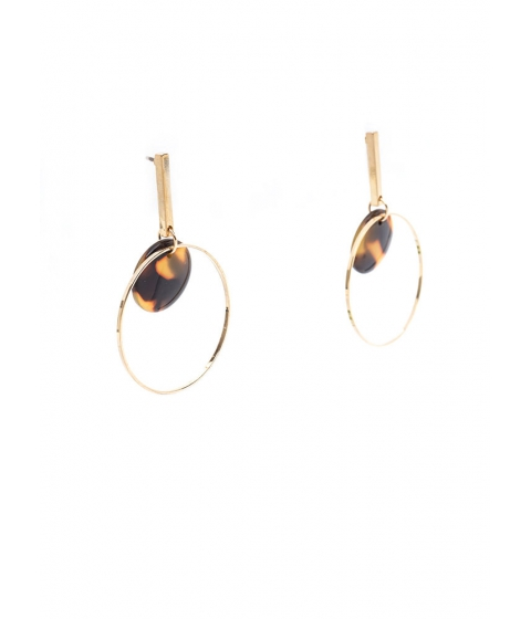 Accesorii Femei CheapChic Bar With Me Hoop Earrings Goldbrown