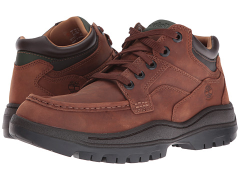 Incaltaminte Barbati Timberland Hempstead Waterproof Moc Toe Super Oxford Medium Brown Full Grain