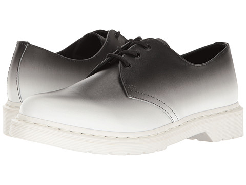 Incaltaminte Barbati Dr Martens 1461 WhiteBlack Fade Out Backhand