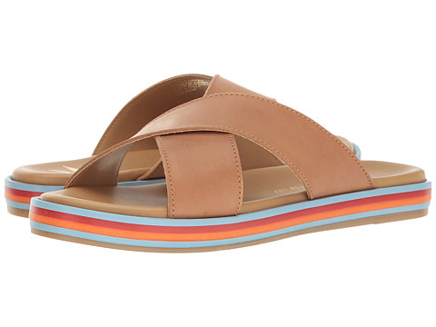 Incaltaminte Femei LFL by Lust For Life Rainbow Tan Leather