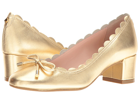 Incaltaminte Femei Kate Spade New York Yasmin Gold Metallic Nappa