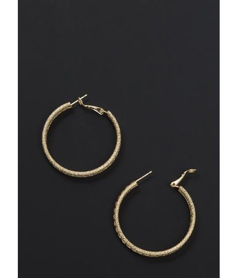 Accesorii Femei CheapChic Glitzy Baubles Twisted Hoop Earrings Gold