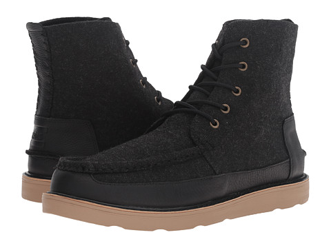 Incaltaminte Barbati TOMS Searcher Boot Black HerringboneBlack Leather