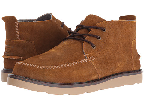 Incaltaminte Barbati TOMS Chukka Boot Chestnut Oiled Suede