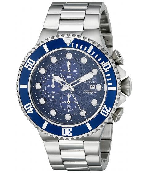 Ceasuri Barbati Invicta Watches Invicta Mens 18907 Pro Diver Analog Display Japanese Quartz Silver Watch BlueSilver