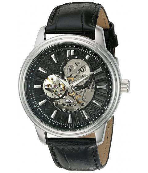Ceasuri Barbati Invicta Watches Invicta Mens 22577 Vintage Analog Display Automatic Self Wind Black Watch BlackBlack