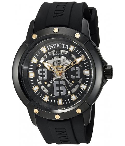 Ceasuri Barbati Invicta Watches Invicta Mens Objet dArt Automatic Stainless Steel and Silicone Casual Watch ColorBlack (Model 22632) BlackBlack