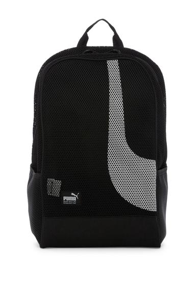 Genti Femei PUMA Evercat Screen Mesh Backpack BLACK