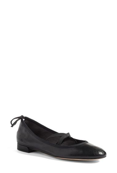 Incaltaminte Femei Stuart Weitzman Bolshoi Ballet Flat - Multiple Widths Available BLACK NAPPA
