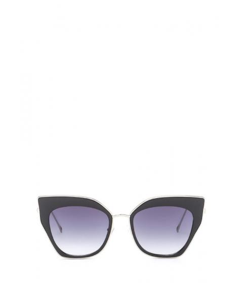 Accesorii Femei CheapChic Retro Party Cat-eye Sunglasses Blacksilver