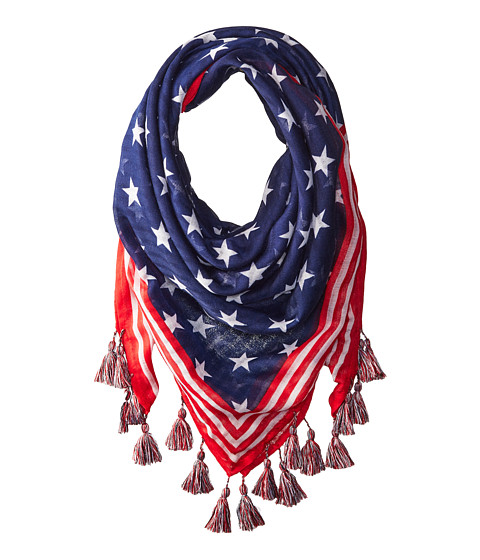 Accesorii Femei Steve Madden Stars and Stripes Square Day Wrap Navy