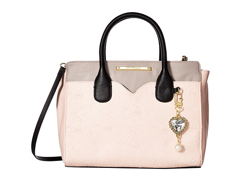 Genti Femei Betsey Johnson Dip Satchel with Removable Pouch Blush Multi