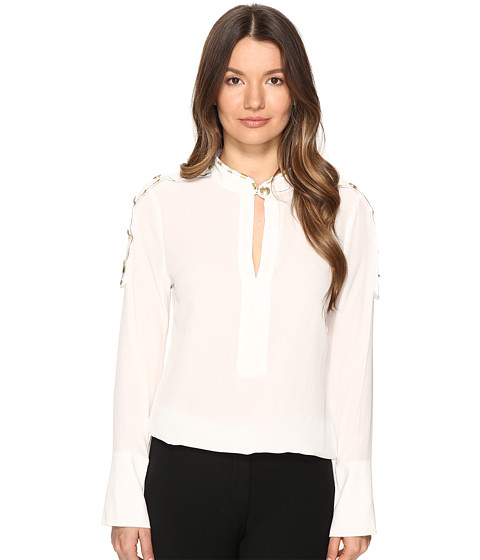 Imbracaminte Femei Pierre Balmain Classic Tailored Blouse Off-White