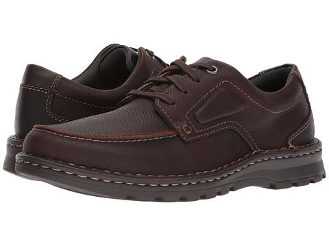 Incaltaminte Barbati Clarks Vanek Apron Brown Oily Leather