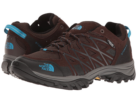 Incaltaminte Femei The North Face Storm III WP Demitasse BrownHyper Blue (Prior Season)