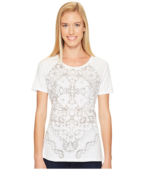 Imbracaminte Femei Aventura Clothing Luca Short Sleeve White