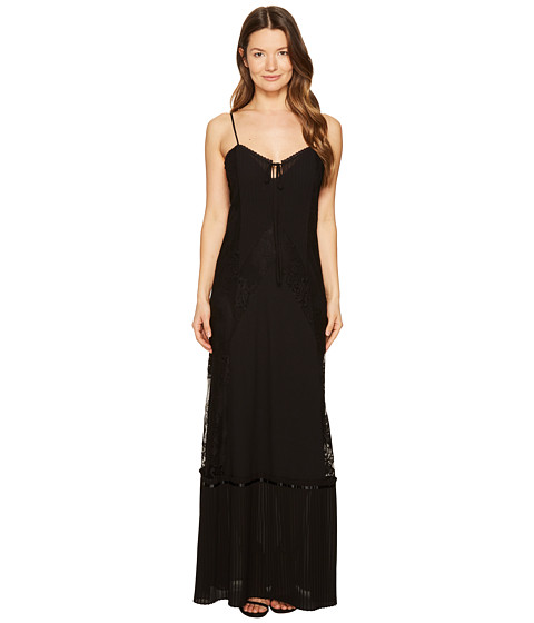 Imbracaminte Femei McQ Long Lace Slip Dress Black