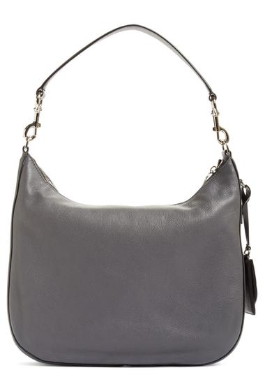 Genti Femei Marc Jacobs Recruit Leather Hobo Bag SHADOW