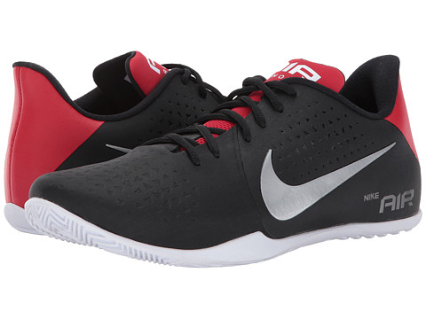 Incaltaminte Barbati Nike Air Behold Low BlackMetallic SilverWhite
