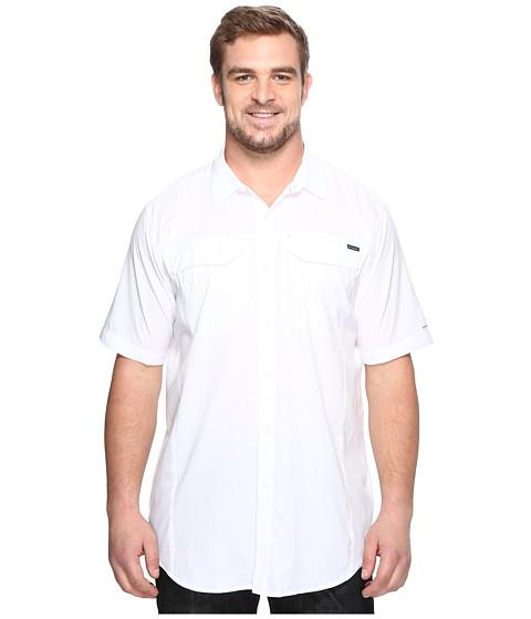 Imbracaminte Barbati Columbia Big amp Tall Silver Ridge Lite Short Sleeve Shirt White