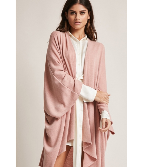 Imbracaminte Femei Forever21 Billowy Brushed Cardigan MAUVE