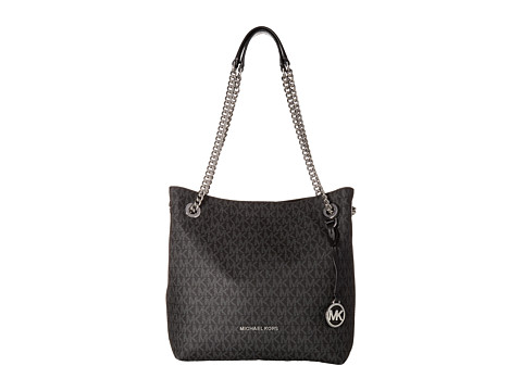 Genti Femei MICHAEL Michael Kors Jet Set Chain Medium Shoulder Tote Black