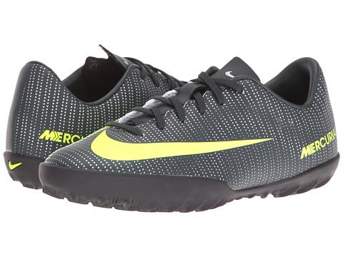 Incaltaminte Fete Nike Jr Mercurialx Vapor XI CR7 TF Soccer (ToddlerLittle KidBig Kid) SeaweedHastaWhiteVolt