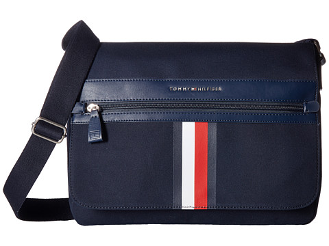 Genti Barbati Tommy Hilfiger Icon Messenger Canvas Tommy Navy