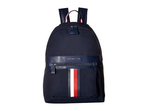 Genti Barbati Tommy Hilfiger Icon Backpack Canvas Tommy Navy
