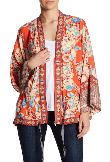 Imbracaminte Femei Free People Wildflower Cinched Kimono RED