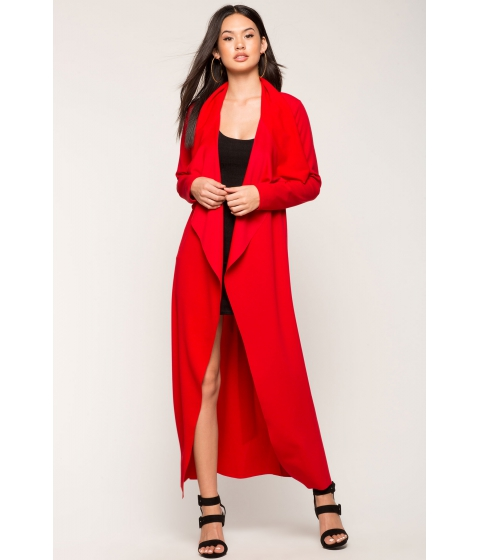 Imbracaminte Femei CheapChic Not Your Average Trench Coat Red