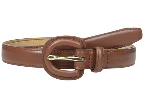 Accesorii Femei Cole Haan 78quot Dress Calf Belt with Matching Covered Buckle Woodbury