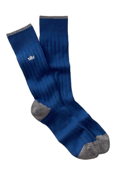 Accesorii Barbati Peter Millar Crown Crew Socks 022 BLUE