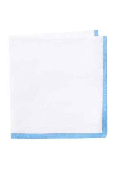 Accesorii Barbati 14th Union Solid Edge Pocket Square SKY BLUE