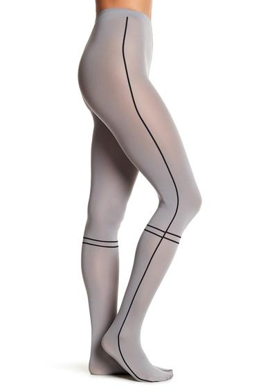 Accesorii Femei WOLFORD Anni Opaque Stripe Tights RIDGE-BLACK