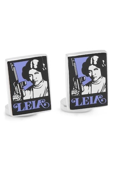 Accesorii Barbati Cufflinks Inc Princess Leia Pop Art Poster Cuff Links NO COLOR