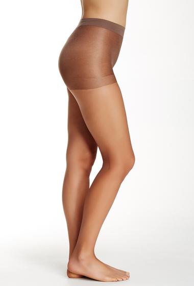 Accesorii Femei shimera Ultra Sheer Control Top Pantyhose Plus Size Available CHOCOLATE