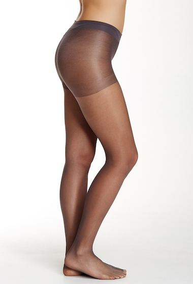 Accesorii Femei shimera Sheer Control Top Pantyhose Plus Size Available OFF BLACK