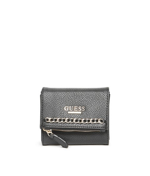Accesorii Femei GUESS Sharlet Small Wallet black